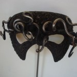 """Homage to Dali"" Mask Forged and Fabricated mild steel"