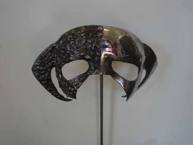 """Dichotomy 1"" Mask , Forged and Welded Stainless steel"