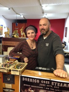Stephen and Katiuska of Mountain Metal Art Dorrigo NSW