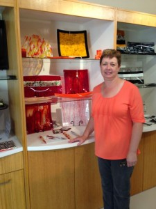 Elaine Marshall , Glass Artist