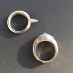 Sand-Cast Silver Rings