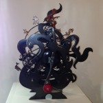 "Kinetic Sculpture ""Taken for a ride"" (all that glitters is not gold)"