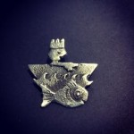 ADVENTURE ! The little King Sand-cast silver or bronze brooch