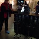 Bar stools by Ben Beames of Hammer and Hand Hobart in the Bar at MONA